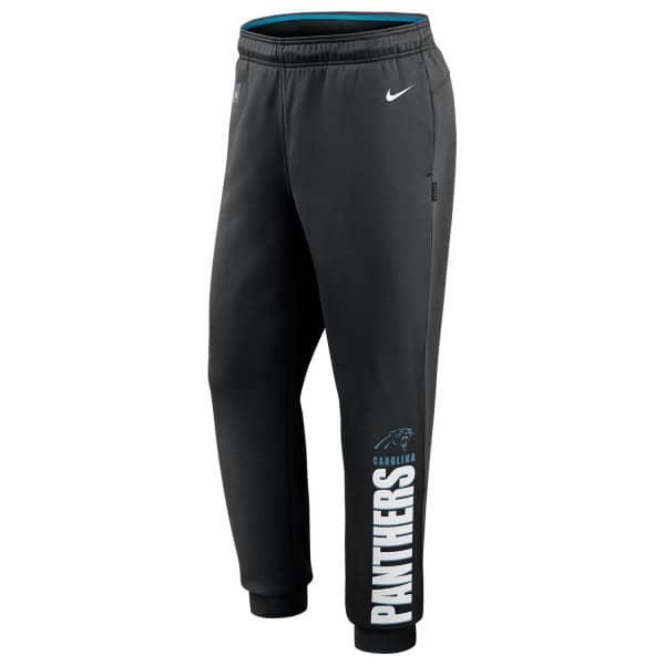 Carolina Panthers 2020 NFL Sideline Lockup Nike Therma Jogger Sweatpants