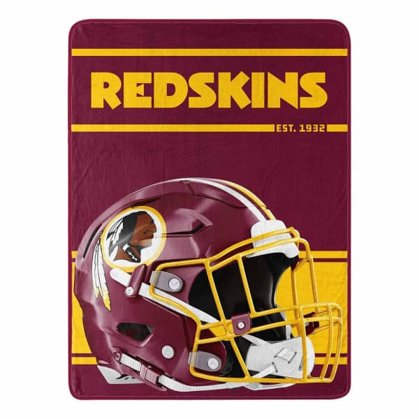 Washington Redskins Run Super Plush NFL Decke