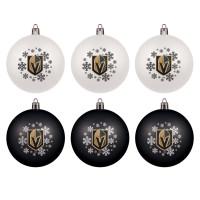 Vegas Golden Knights NHL Weihnachtskugeln Geschenk-Set (6-Teilig)