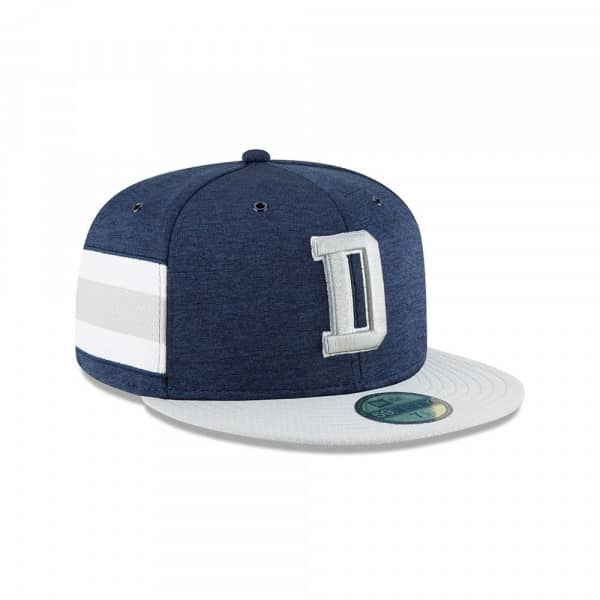 Dallas Cowboys 2018 NFL Sideline 59FIFTY Fitted Cap Home