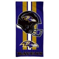 Baltimore Ravens Helmet NFL Strandtuch