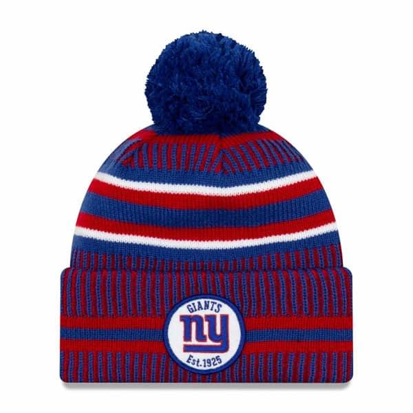New York Giants 2019 NFL Sideline Sport Knit Wintermütze Home