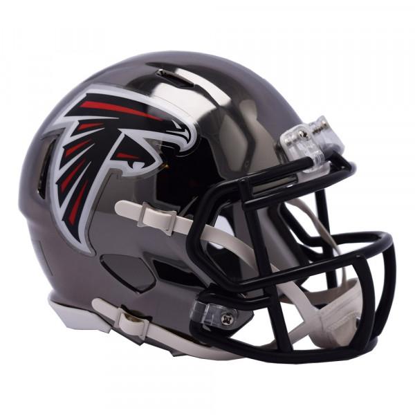 Atlanta Falcons NFL Chrome Alternate Speed Mini Helm