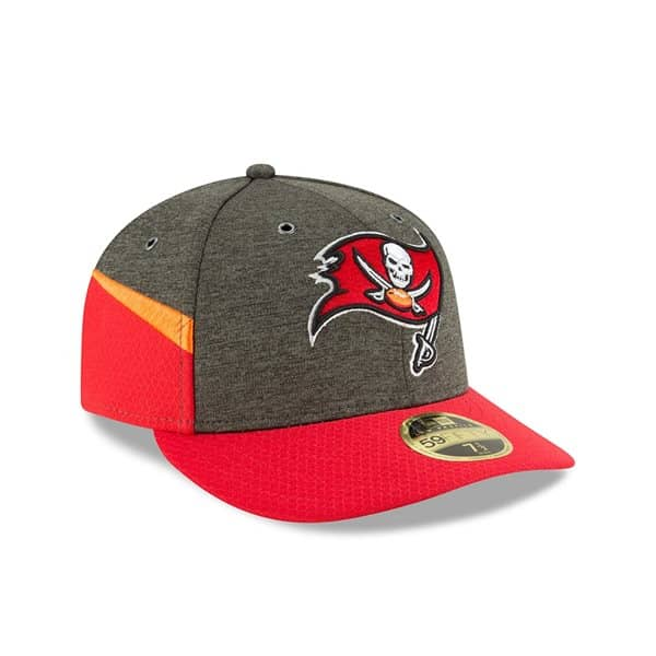Tampa Bay Buccaneers 2018 NFL Sideline Low Profile 59FIFTY Cap Home