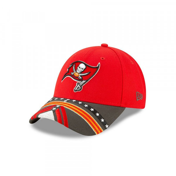 designer fashion 9836f aeda2 New Era Tampa Bay Buccaneers 2019 NFL Draft 9FORTY Adjustable Cap On-Stage    TAASS.com Fan Shop