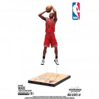 NBA Series 30 Dwyane Wade Chicago Bulls Basketball Figur (16 cm)