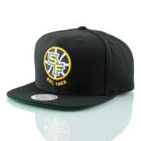 Golden State Warriors Wool Solid SF Logo Snapback NBA Cap Schwarz