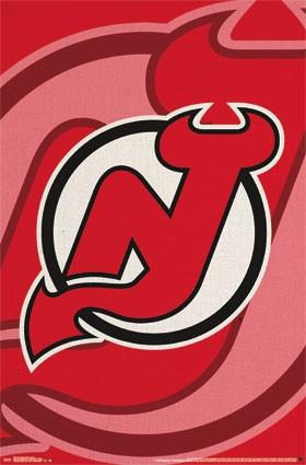 New Jersey Devils Official Team Logo NHL Poster RP13867