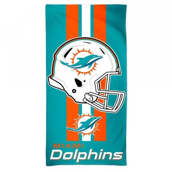 d61765af5 WinCraft Miami Dolphins Helmet Fiber NFL Beach Towel