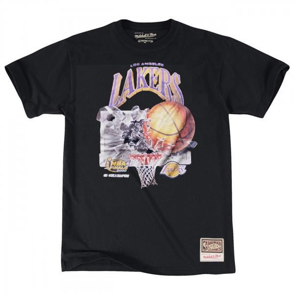 Los Angeles Lakers 2000 Champions Mitchell & Ness NBA T-Shirt