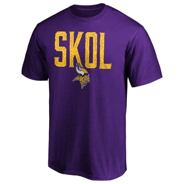 Minnesota Vikings SKOL NFL T-Shirt