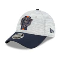 Chicago Bears 2021 NFL Offical Training New Era Stretch-Snap 9FORTY Cap