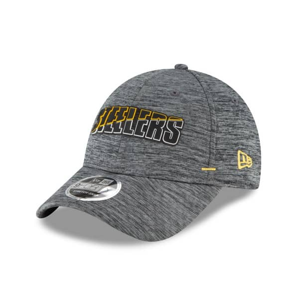 Pittsburgh Steelers 2020 Summer Sideline New Era Stretch-Snap 9FORTY NFL Cap Grau