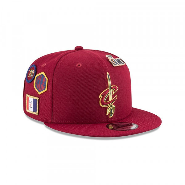 huge discount 28e68 26608 New Era Cleveland Cavaliers 2018 NBA Draft 9FIFTY Snapback Cap Red    TAASS.com Fan Shop