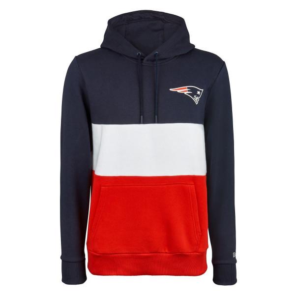 New England Patriots 2019 Color Block NFL Hoodie