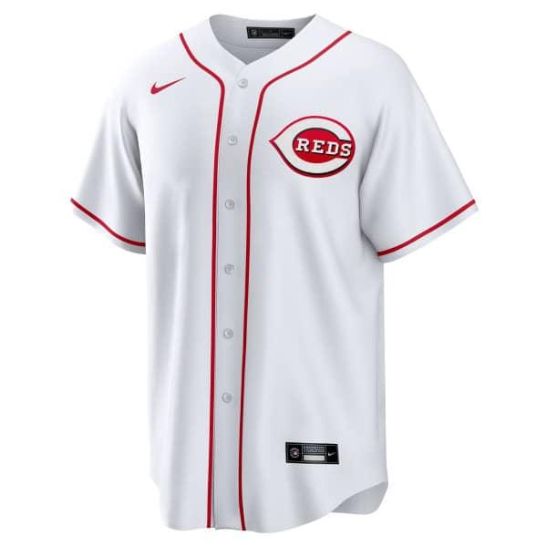 Cincinnati Reds 2020 Nike MLB Replica Home Trikot Weiß