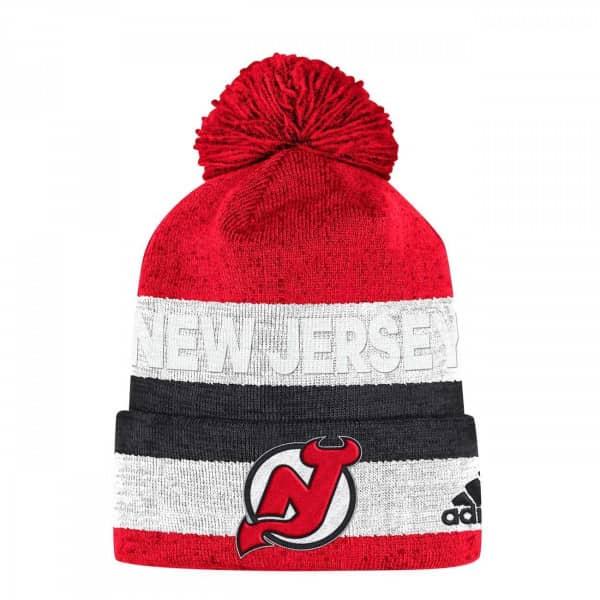 0f6d5a330 New Jersey Devils Juliet Cuffed NHL Knit Hat