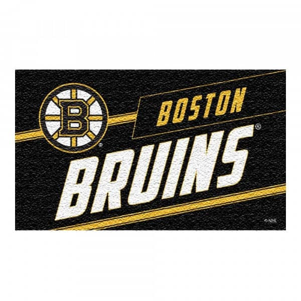 Boston Bruins Punch Print NHL Kokos Fußmatte