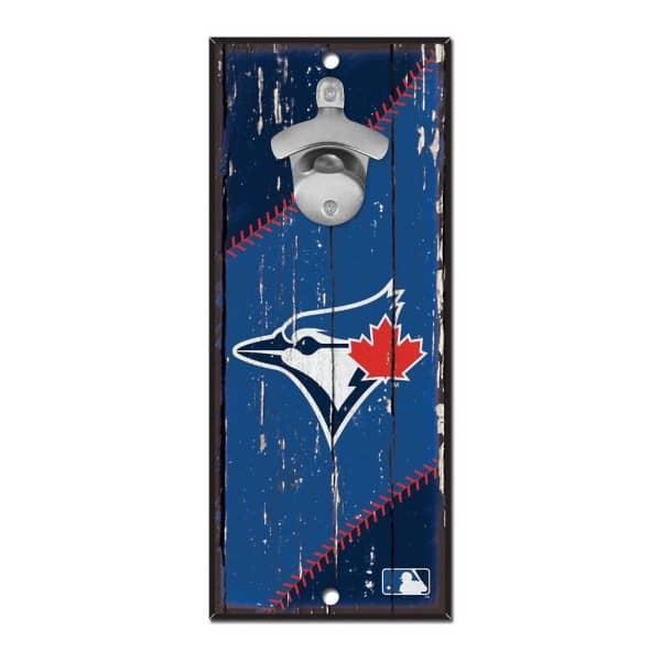 Toronto Blue Jays MLB Schild mit Flaschenöffner