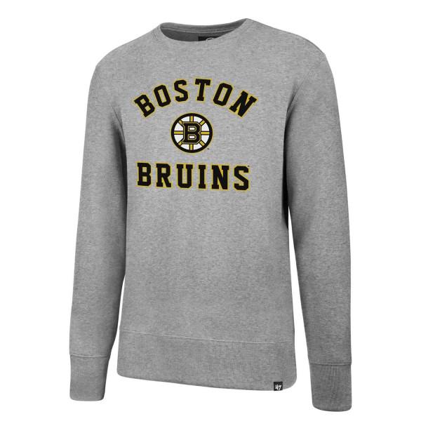 Boston Bruins Varsity Arch Crewneck NHL Sweatshirt