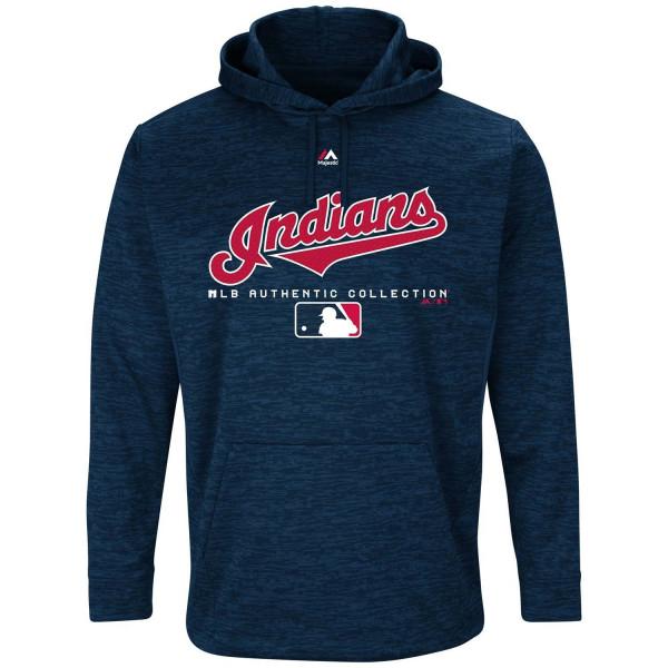 Cleveland Indians Team Drive Authentic MLB Hoodie Sweatshirt
