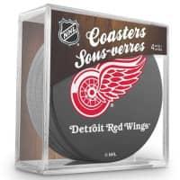 Detroit Red Wings NHL Eishockey Puck Untersetzer (4er Set)