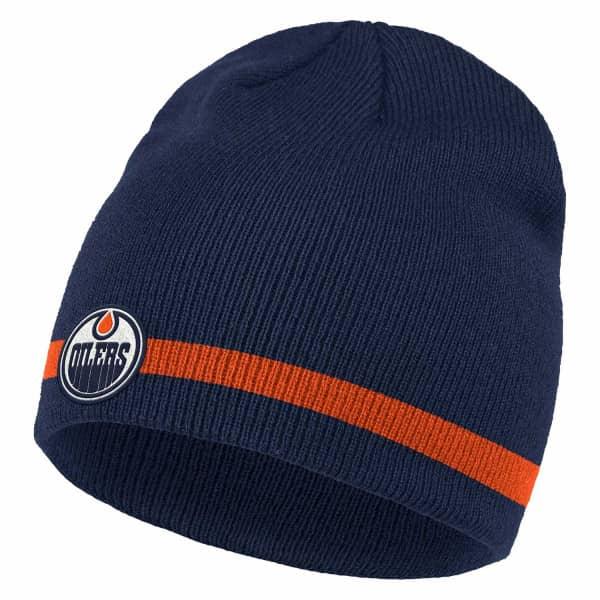 Edmonton Oilers 2020/21 adidas NHL Coach Beanie Wintermütze