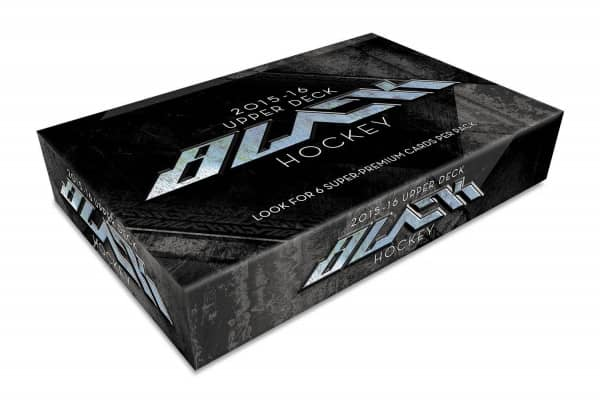 2015/16 Upper Deck Black Hockey Hobby Box NHL