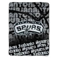 San Antonio Spurs Micro Raschel Super Plush NBA Decke