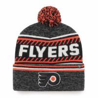 Philadelphia Flyers Cuff Pom '47 Ice Knit NHL Wintermütze