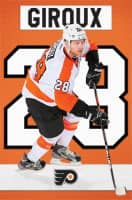 Philadelphia Flyers Claude Giroux Superstar NHL Poster RP9822