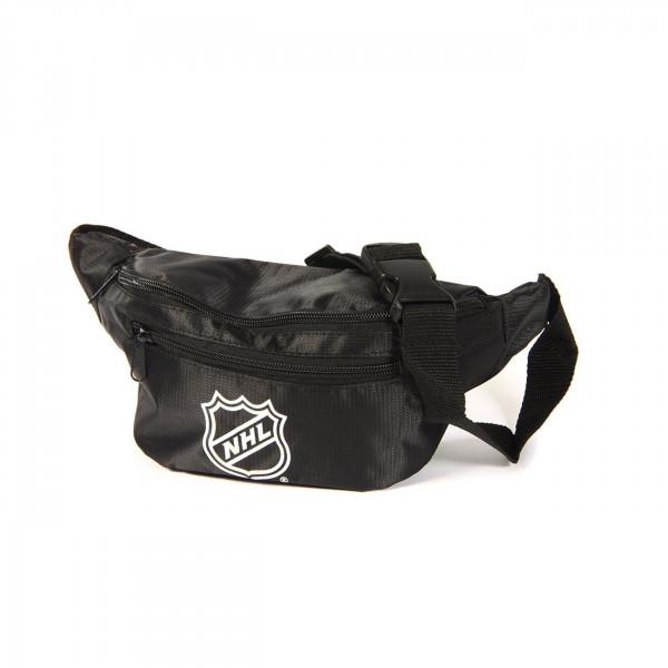 NHL Logo Black Eishockey Bauchtasche