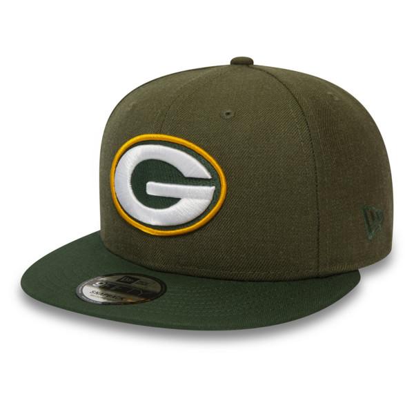 Green Bay Packers Heather Crown New Era 9FIFTY NFL Snapback Cap