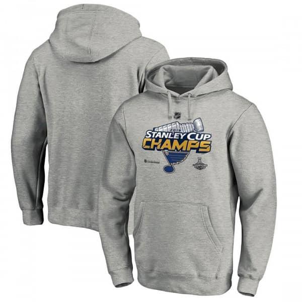 St. Louis Blues 2019 Stanley Cup Champions Locker Room Hooded NHL Sweatshirt