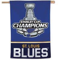 St. Louis Blues 2019 Stanley Cup Champions NHL Fahne (90 x 70)