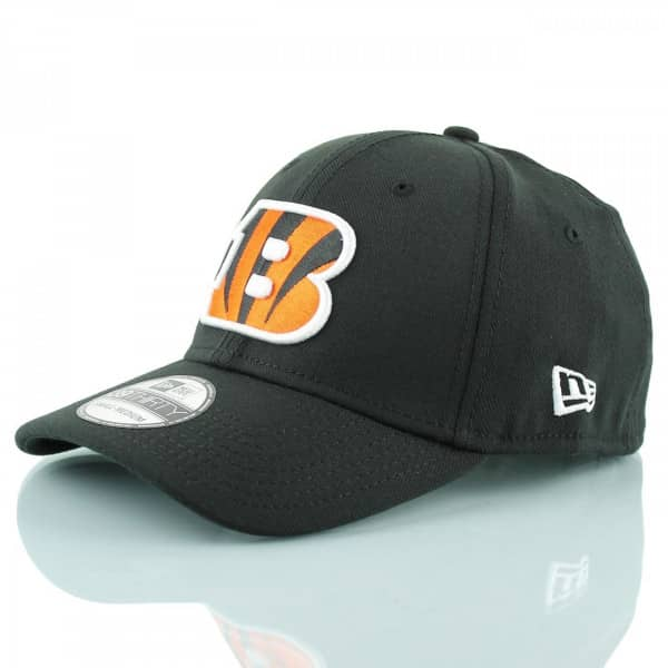 Cincinnati Bengals Black Base 39Thirty Stretch Fit NFL Cap