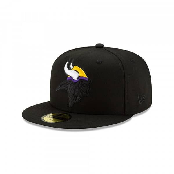 Minnesota Vikings 2.0 Logo Elements New Era 59FIFTY Fitted NFL Cap