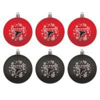 Atlanta Falcons NFL Weihnachtskugeln Geschenk-Set (6-Teilig)