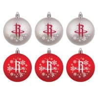 Houston Rockets NBA Weihnachtskugeln Geschenk-Set (6-Teilig)