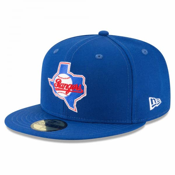 Texas Rangers 1984 Cooperstown 59FIFTY Fitted MLB Cap