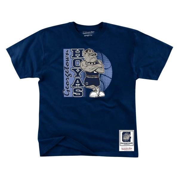 Georgetown Hoyas Big Dawg Mitchell & Ness NCAA T-Shirt Navy