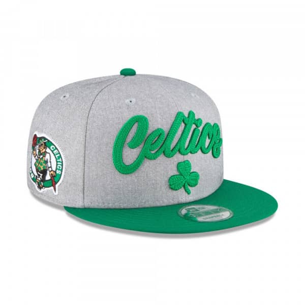Boston Celtics Authentic On-Stage 2020 NBA Draft New Era 9FIFTY Snapback Cap