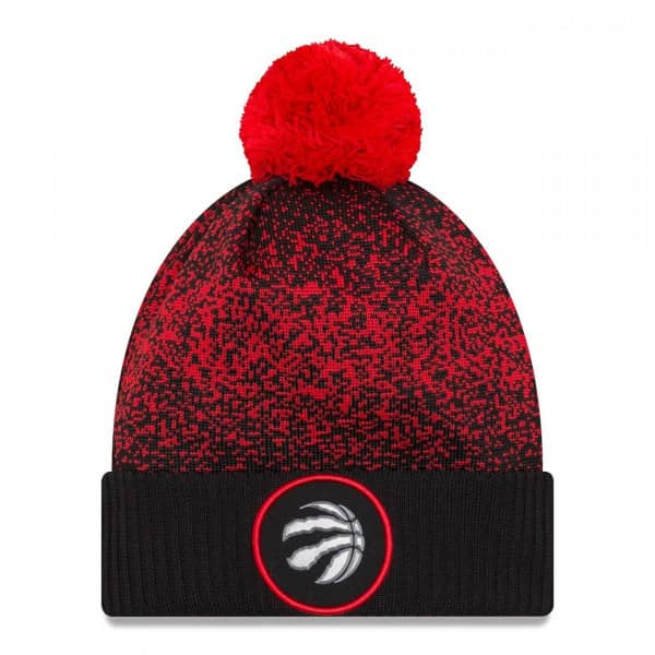 hot sale online dc0e9 0c5f3 New Era Toronto Raptors 2017 On-Court NBA Knit Hat   TAASS.com Fan Shop