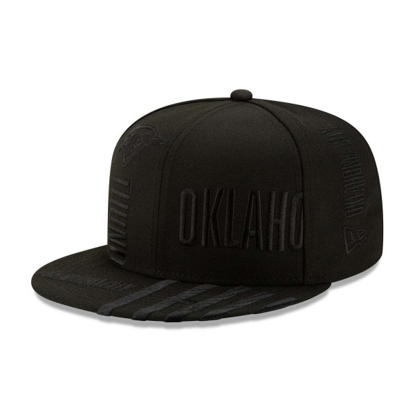 Oklahoma City Thunder Black 2019-20 NBA Tip Off Series 9FIFTY Snapback Cap