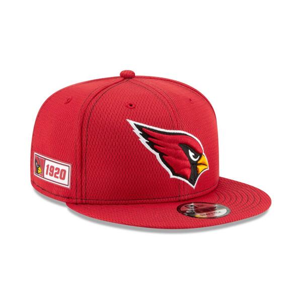 Arizona Cardinals 2019 NFL On-Field Sideline 9FIFTY Snapback Cap Road