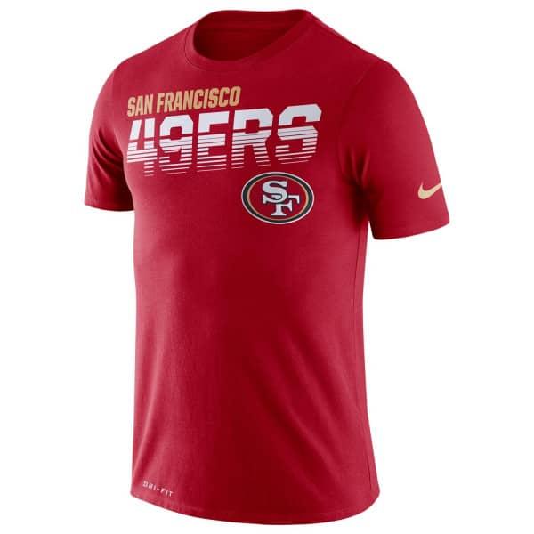 San Francisco 49ers 2019 NFL Sideline Scrimmage T-Shirt
