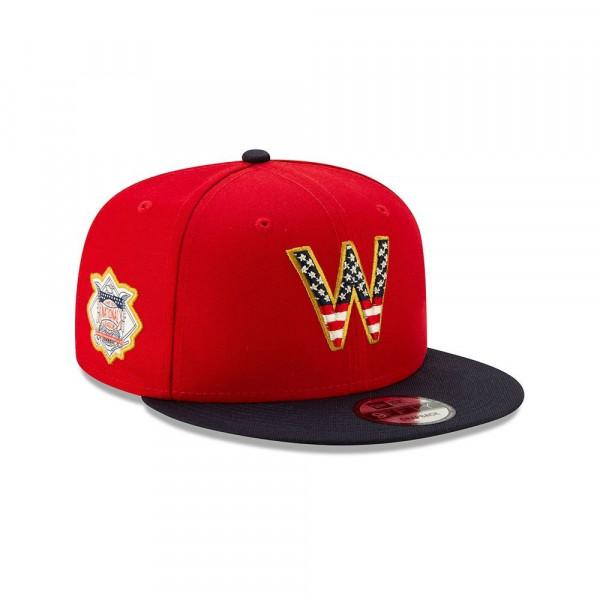 Washington Nationals 4th of July 2019 MLB 9FIFTY Snapback Cap