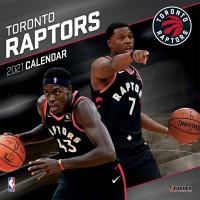 Toronto Raptors 2021 Team NBA Wandkalender