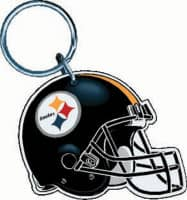 Pittsburgh Steelers Premium Helmet NFL Schlüsselanhänger
