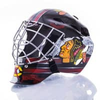 Chicago Blackhawks NHL Mini Goalie Mask